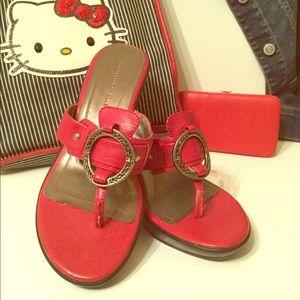 Women's Sandals & Mini Wristlet